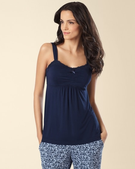Lace Sleep Cami Navybound