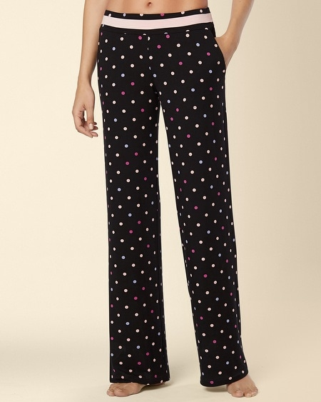 Long Inseam Pajama Pant Wonderous Dot Multi
