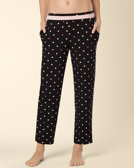 Ankle Pajama Pant Wonderous Dot Multi