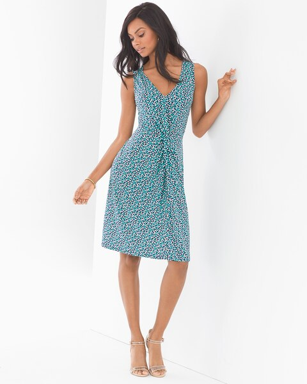 Sleeveless Charlotte Dress Rhumba 0284fdd1a
