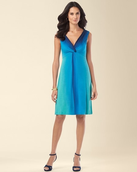 Sandra Dress Vibrant Ombre