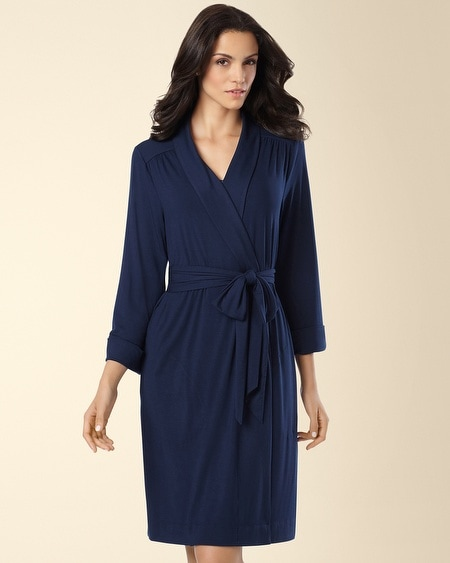 Short Robe Navybound