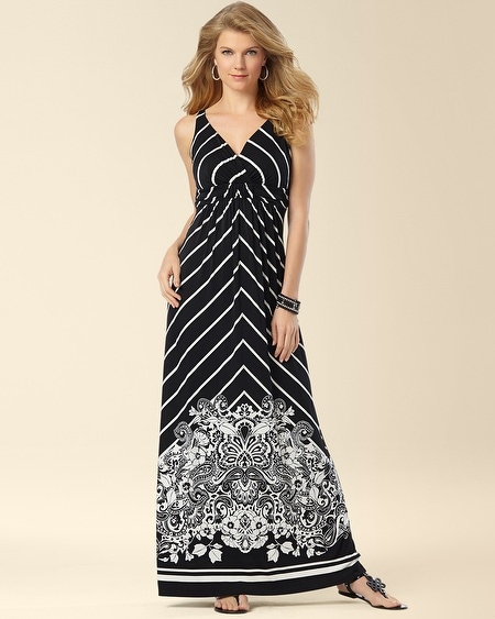 Britney Maxi Dress Scribe Floral