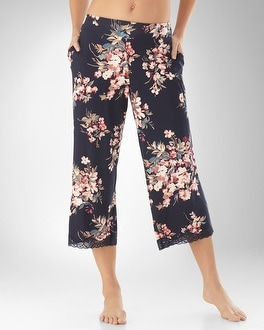 Embraceable Cool Nights Destiny Navybound PJ Crop