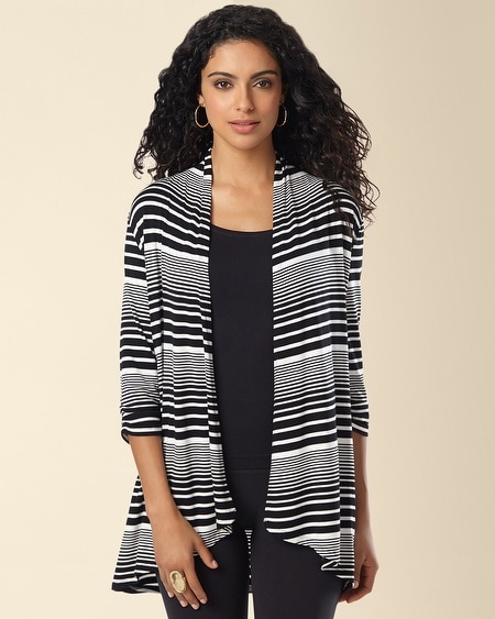 Open Wrap Gradient Stripe