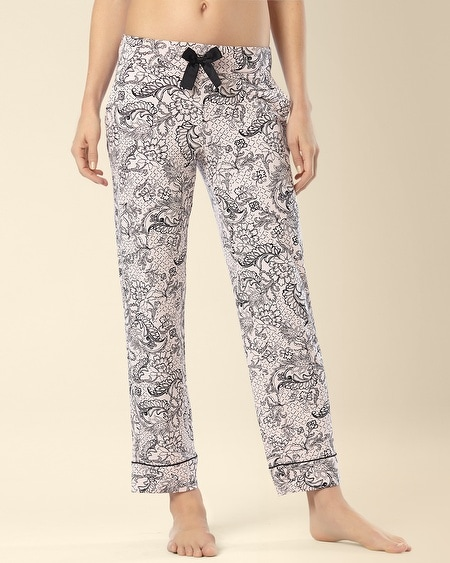 Ankle Pajama Pant Lacey