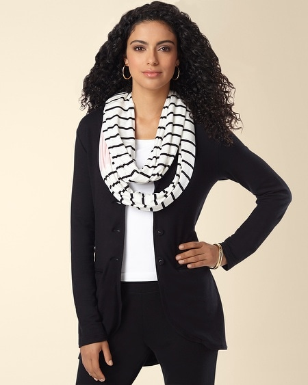 Infinity Wrap Scarf Fundamental Colorblock
