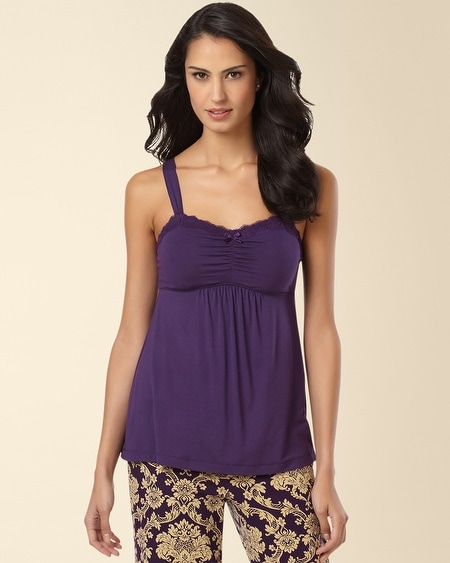 Lace Sleep Cami Blackberry