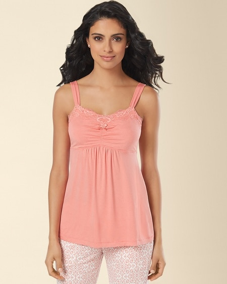 Lace Sleep Cami Coral Hype