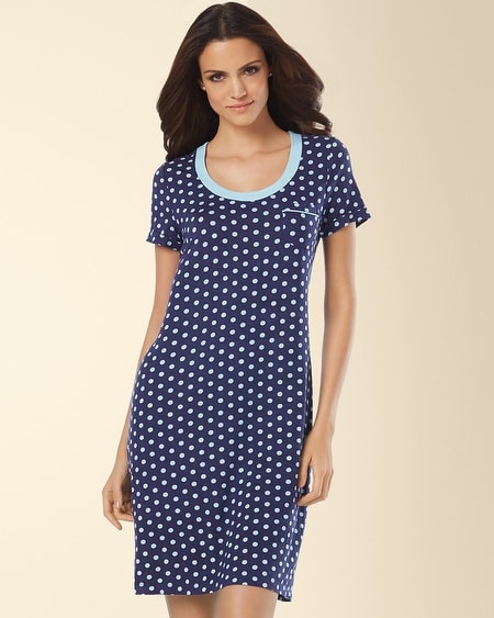 Sleepshirt Big Dot Navy
