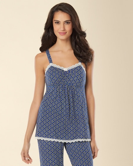 Lace Sleep Cami Medallion Mode Atlantis