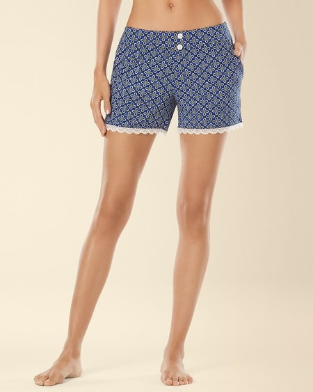 Lace Sleep Short Medallion Mode Atlantis