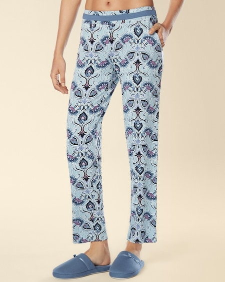 Ankle Pajama Pant Charming Scroll