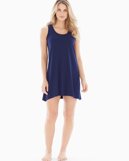 Sleeveless Sleepshirt Navy