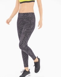 Soma Sport Leggings Dash Dot Black