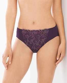 Limited Edition Sensuous Lace High Leg Brief