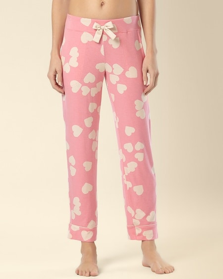 Ankle Pajama Pant Big Hearts