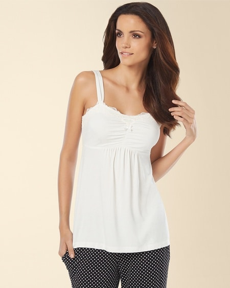 Lace Sleep Cami Ivory