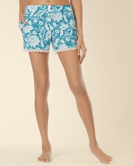 Lace Sleep Short Floral Batik