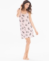 Cool Nights Sleeveless Sleepshirt Delicates Rose Quartz