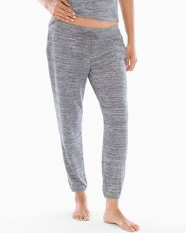 Banded Ankle Pant Heather Graphite by Cozy Nights