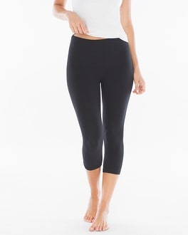 Slimming Crop Legging Black