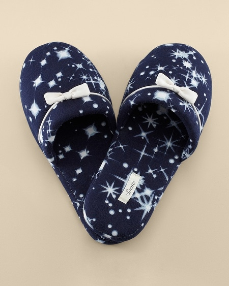 Slipper Twinkle Rain Blue