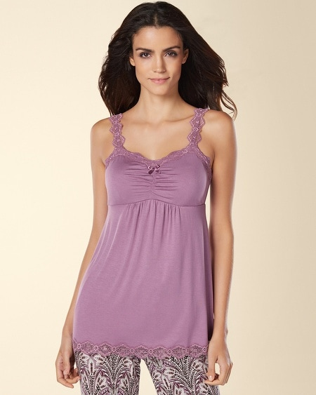 Lace Sleep Cami Grape Frost