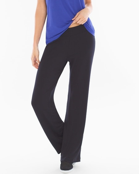 Divine Terry Pant Black TL