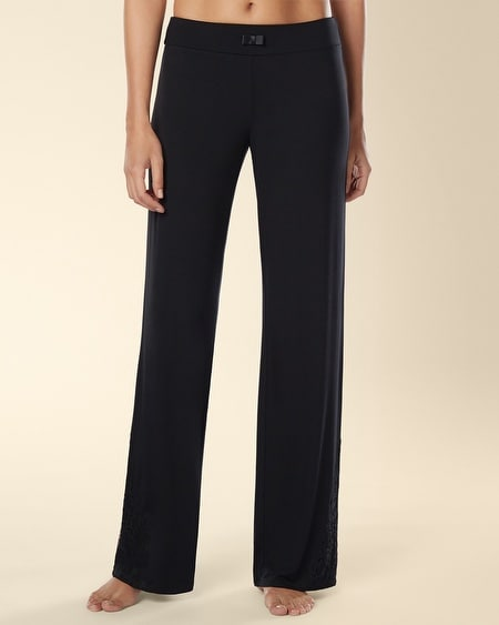 Eternal Lace Pajama Pant Black