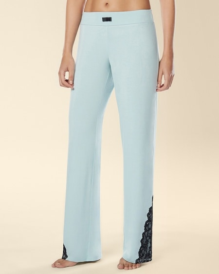 Eternal Lace Pajama Pant Ether Blue