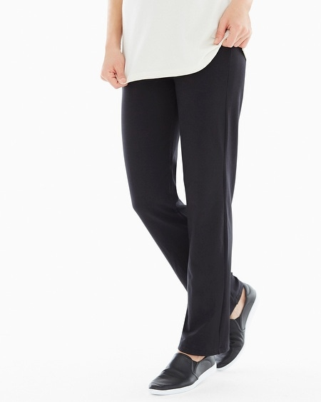 Premium Cotton Pants Black