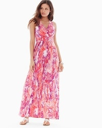 Crossback Maxi Dress Mystery Guava