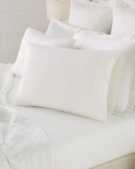Luxe Pillowcase Set Ivory