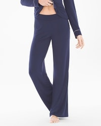 Embraceable Cool Nights Pajama Pants Navy
