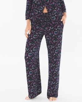 Cool Nights Pajama Pants High Society Black