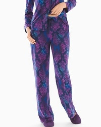 Embraceable Pajama Pants Ombre Noir Paper Navy