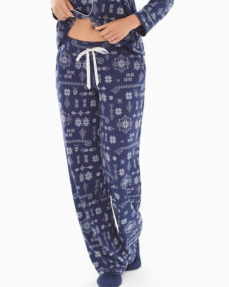 Pajama Pants Alpine Stitch Navy TL