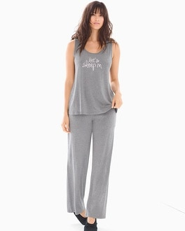 Cool Nights Tank Pajama Set Sleep In Graphite