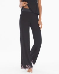 Limited Edition Flirtation Pajama Pants Black
