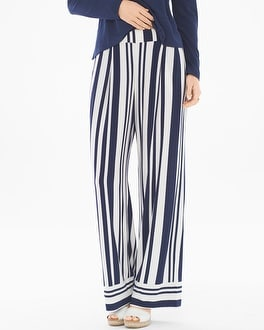 Soft Jersey Wide Leg Pants
