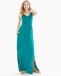 Soft Jersey Sleeveless Goddess Maxi