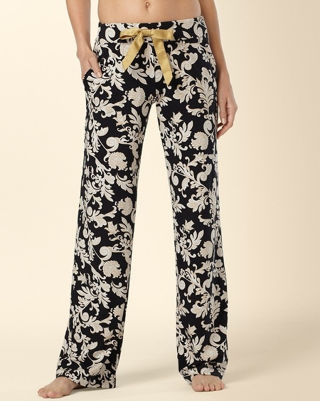 Pajama Pant Fortune Black