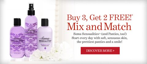 Buy 3 Get 2 Free Mix and Match