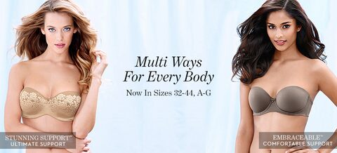 Multi Ways for Every Body | Now in Sizes 32-44, A-G
