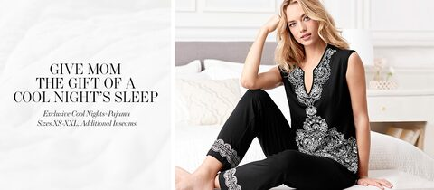 Give Mom The Gift Of A Cool Nights Sleep. | Sizes XS-XXL, Additional inseams