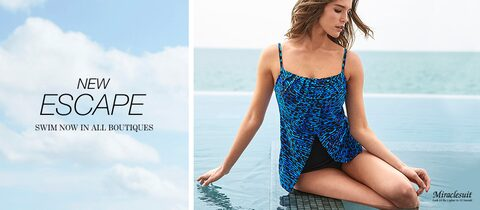New Escape. Swim now in all boutiques