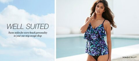 Well Suited Swim styles for every beach personality in your one stop escape shop
