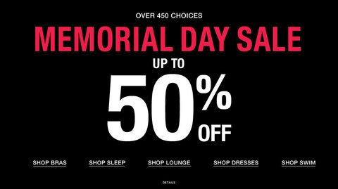 Over 450 Choices. Memorial Day Sale. Up to 50% Off.