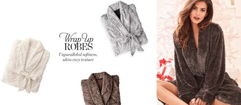Wrap Up Robes. Unparalleled softness, ultra cozy texture.